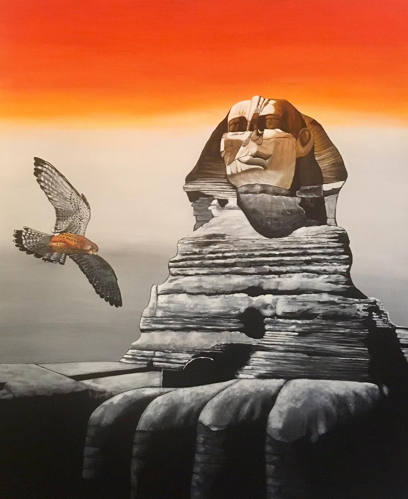 Horus 80x100cm